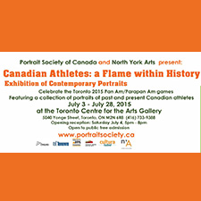 Canadian Athletes: A Flame Within History