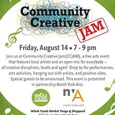 Creative Community Jam