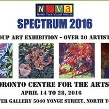 SPECTRUM: North York Visual Artists Exhibition