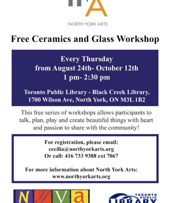 Ceramics and Glass Workshop