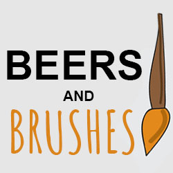 Beers and Brushes: NYA's Inaugural Fundraiser!
