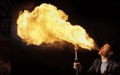 Snapd Arts Feature: Brant Matthews (Fireguy)