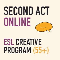 Second Act Seniors: ESL Creative Program