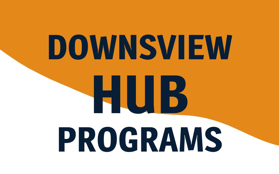 Downsview Hub Programs
