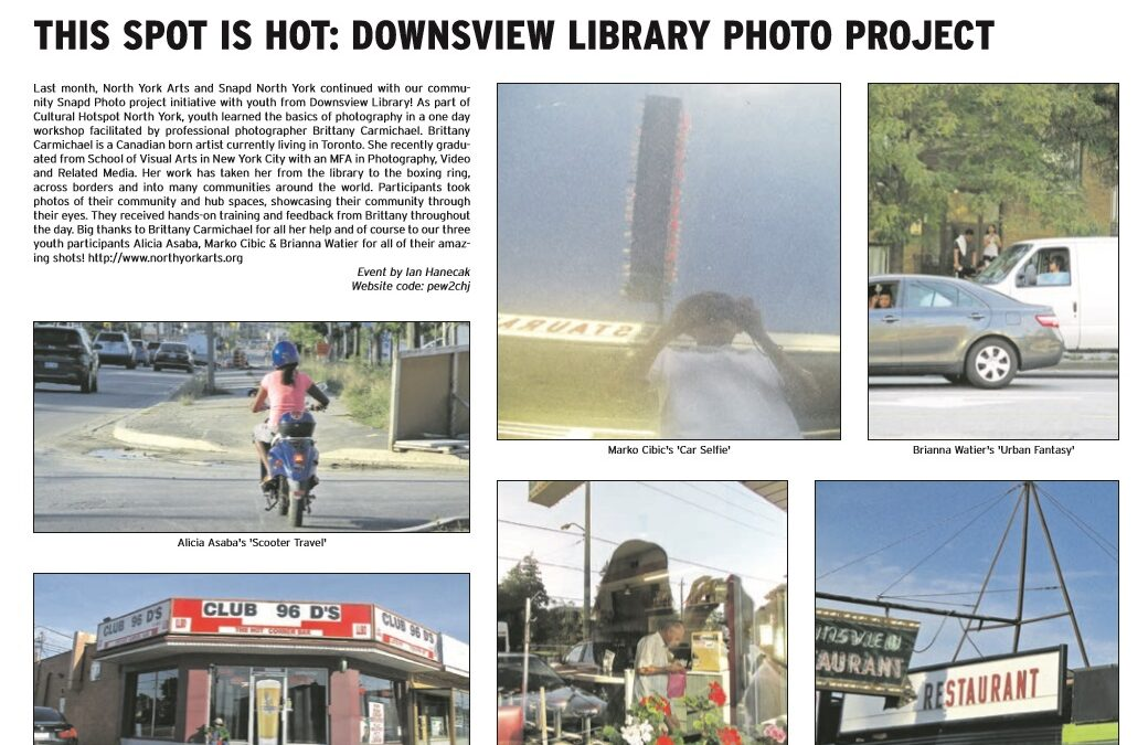 This Spot is Hot: Downsview Library Photo Project